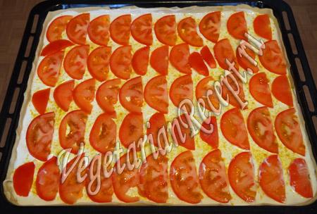 вегетарианская пицца приготовление