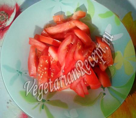 помидоры  для вегетарианской шаурмы