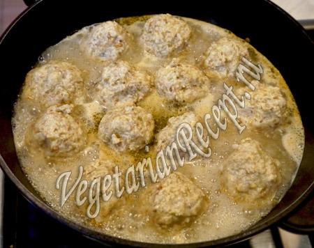 вегетарианские котлеты рецепт