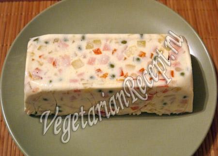 вегетарианский салат - шаг 13