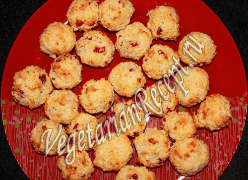 вишнево кокосовые шарики