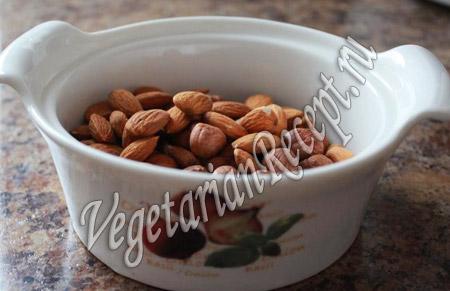 запеканка из тыквы - орехи