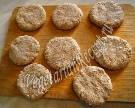 лепешки из пророщенной пшеницы рецепт