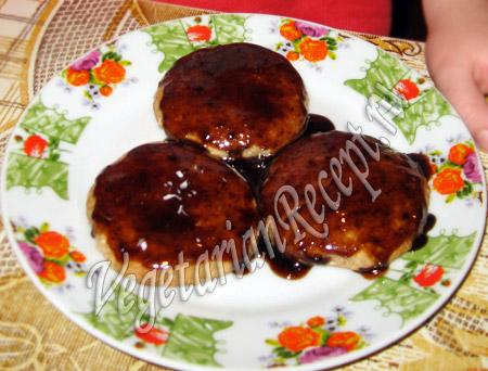 овсяное печенье в глазури