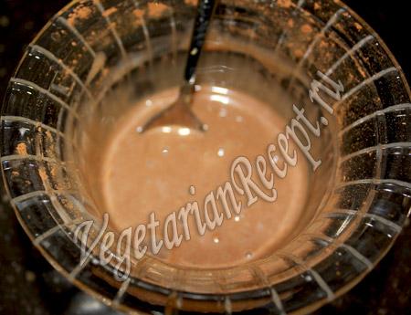 шоколадная смесь для нанесения рисунка на пирог