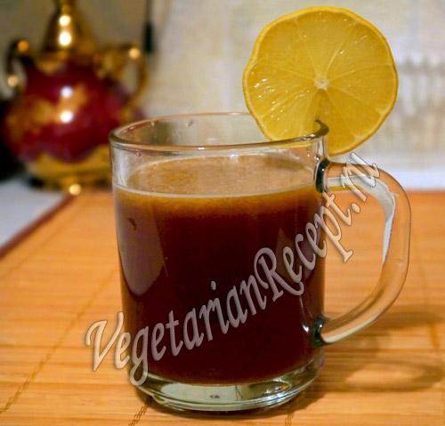 полезный напиток из тростникового сахара гур