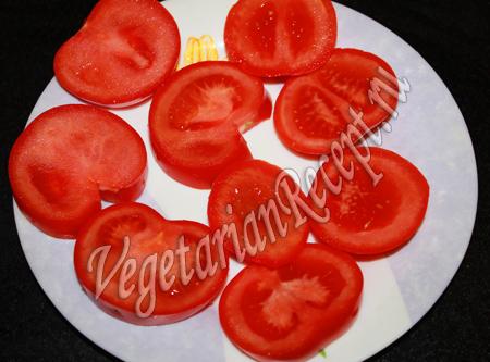 кружочки помидоров для закуски