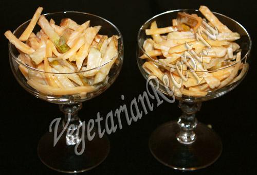 салат с грушей и сыром рецепт