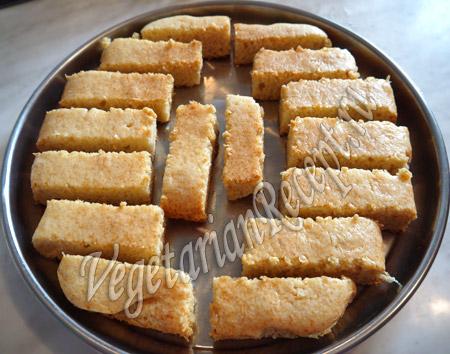 бисквитные кусочки для тирамису с творогом