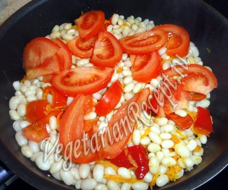 постное блюдо из фасоли рецепт