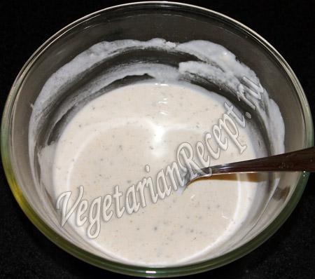 тесто для запеканки из замороженных овощей