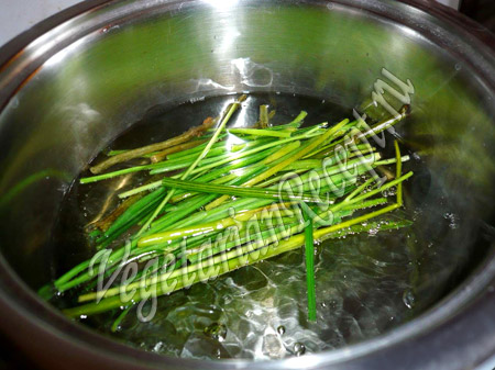 вода для приготовления риса