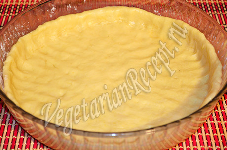 пирог с вишней - основа из теста