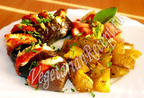 овощи с сыром запеченные в духовке