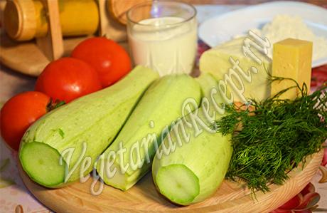 продукты для запеканки из кабачков