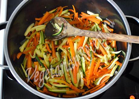 тушим овощи - тушеный картофель с овощами