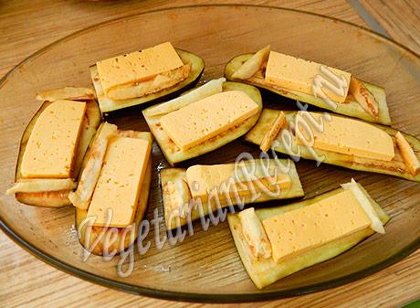 баклажаны с сыром