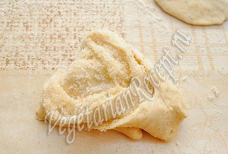 формируем булочки на кефире