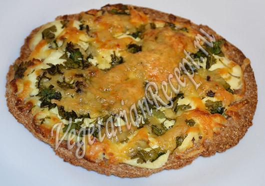 хлебцы с сыром и зеленью