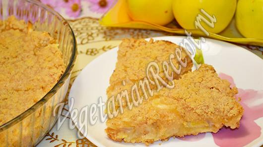 пирог с яблоками - самый вкусный