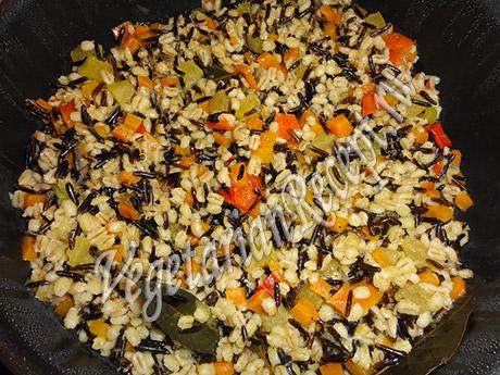 рецепт блюда из дикого риса