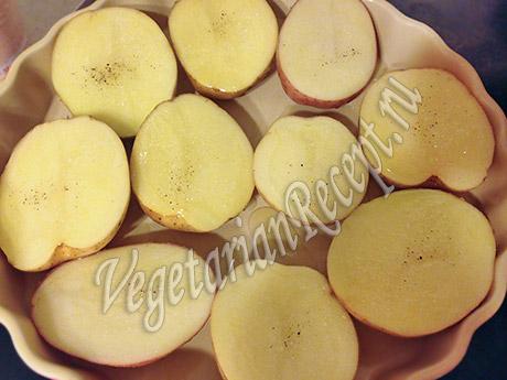 сырой картофель в мундире