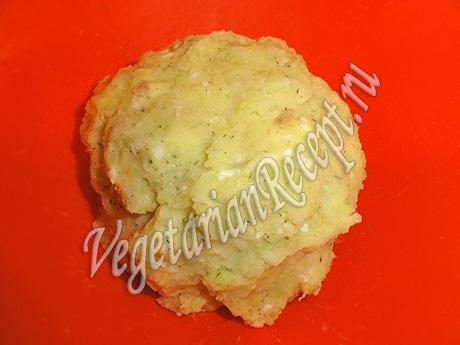 капустно-картофельная смесь