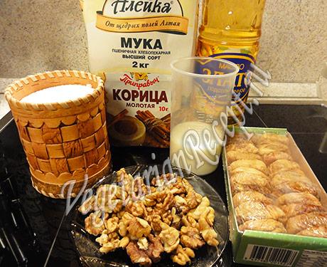 продукты - кекс с инжиром