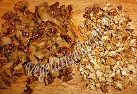 инжир и орехи