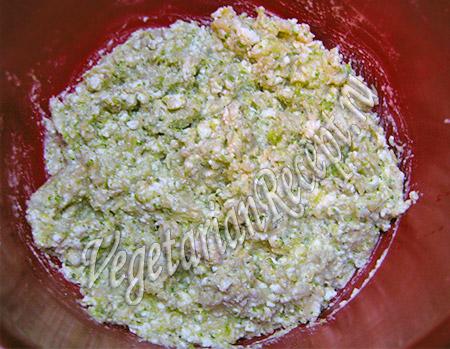 смесь для котлет из брокколи и цветной капусты