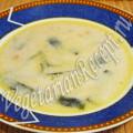 молочный суп с нори