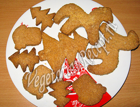 новогоднее печенье из духовки