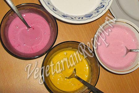 глазурь для росписи новогоднего торта