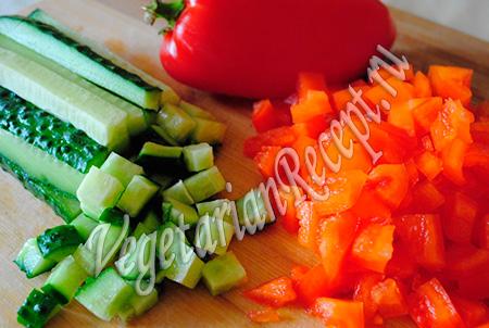 овощи для торта