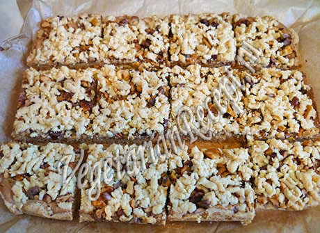 рецепт печенья с карамелью