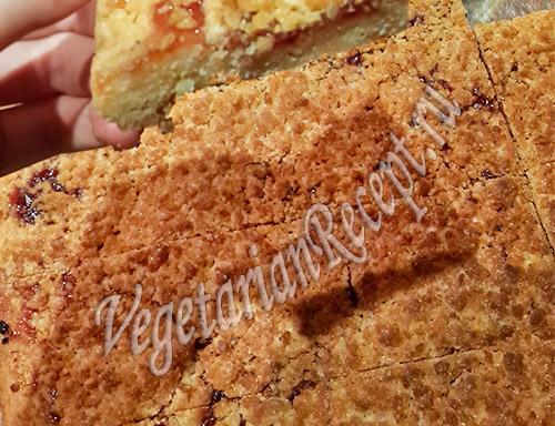 рецепт песочного печенья с вареньем