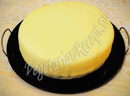 торт под мастикой