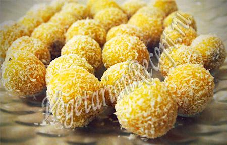 сладкие шарики для торта