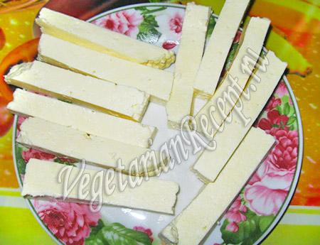 сыр для вегетарианских крабовых палочек