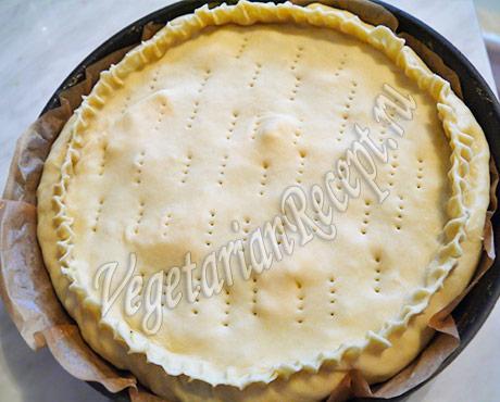 рецепт вегетарианского пирога