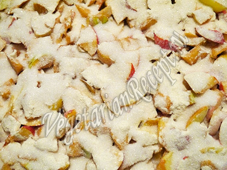 яблочная начинка с сахаром