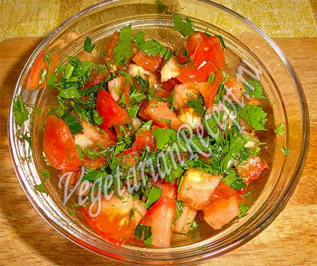 овощи для заливного