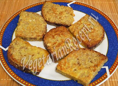 тосты - рецепт жареных в кляре