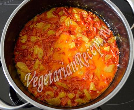 ананас с перцем рецепт