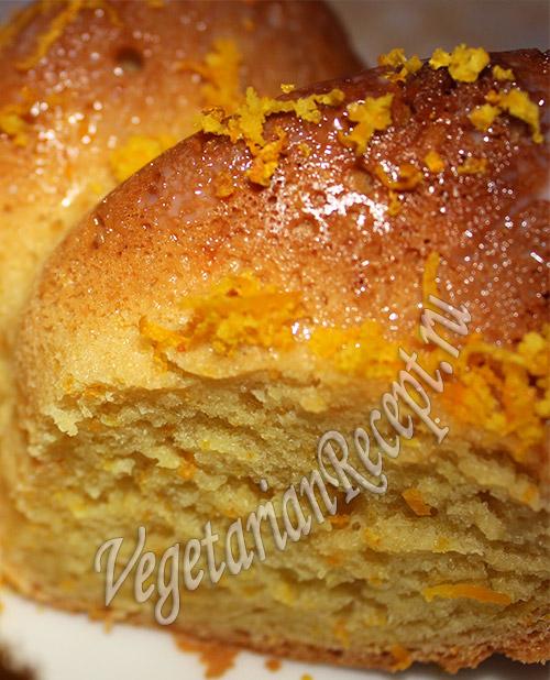 рецепт с фото апельсинового кекса