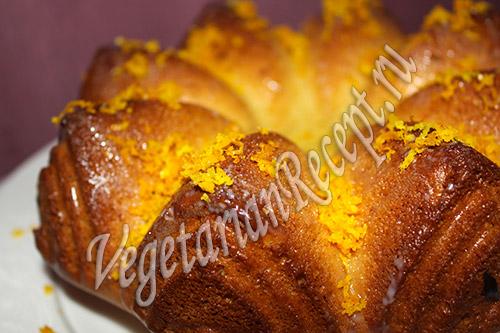 Апельсиновый кекс. Фото
