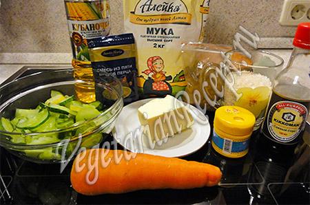 ингредиенты для рецепта чебуреков