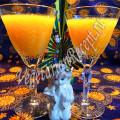 детский десерт с тыквой и апельсинами