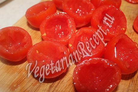 Гратен из помидоров черри – кулинарный рецепт