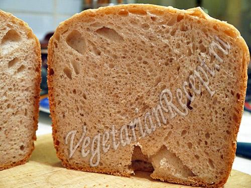 рецепт бездрожжевого пшеничного хлеба на закваске